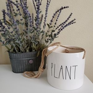 Rae Dunn by Magenta Plant Ceramic LL Hanging Pot